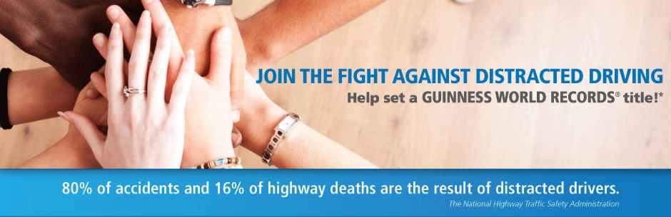 Join Plymouth Rock's fight against distracted driving by signing the Pledge and help set a Guinness World Records® title for the Most Pledges to a Safety Campaign.